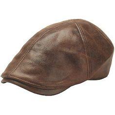 New Design Men Leather Ivy Cap Bunnet d20616c42b7f