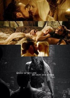 Khal and Khaleese - Game of Thrones