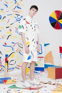 Fashion Line, Boy Fashion, Fashion Art, Womens Fashion, Fashion Design, Graphic Pattern, Dress Alterations, Comme Des Garcons, Colorful Fashion