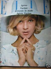 ELLE n°1024 du 05/08/1965  86 pages Sylvie Vartan