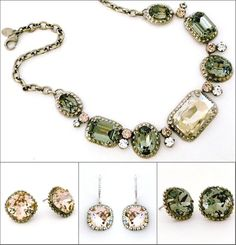 Sorrelli White Bridal Jewelry & Jewelry Collections. Vintage inspired crystal jewelry for weddings & formal affairs that can be enjoyed for generations.Sorrelli French Blush. Another top seller. Chic hues of vintage rose, silver, & black diamond crystals create an elegant, timeless collection.