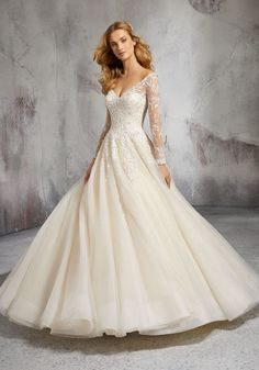 Mori Lee Bridal 8281 wedding dress available at The Castle. We are an authorized retailer for all Mori Lee Bridal dresses and every 8281 is brand new with all original tags! Princess Ball Gowns, Princess Wedding Dresses, Bridal Wedding Dresses, Tulle Wedding, Mermaid Wedding, Wedding Dresses Photos, Wedding Dress Styles, Prom Dresses, Dressy Dresses