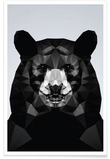 Geo Black Bear - Three Of The Possessed - Affiche premium