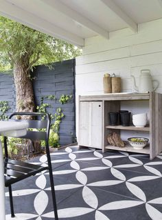 Don't be tempted to overspend when creating the perfect outdoor space. The large backyard landscaping ideas can get costly quickly if you're not careful. Large Backyard Landscaping, Backyard Patio, Diy Patio, Backyard Ideas, Outdoor Rooms, Outdoor Living, Outdoor Decor, Porch And Patio Paint, Patio Tiles