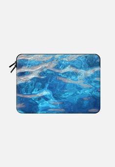 "Blue water Macbook Air 11"" sleeve by littlesilversparks | Casetify"