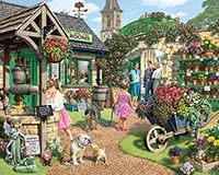 The Garden Shop - 1000 Piece Puzzle - White Mountain Puzzles