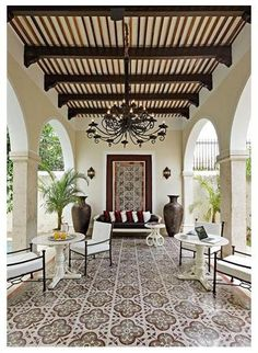 modern spanish homes, spanish home plans The post spanish style homes (spanish home design ideas) Tags: Interior spanish … appeared first on Decor Designs . Home Design, Interior Design, Interior Decorating, Decorating Tips, Style At Home, Outdoor Rooms, Outdoor Living, Outdoor Seating, Outdoor Tiles