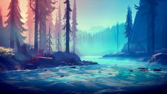 among trees video game 4k Wallpapers For Pc, Pc Desktop Wallpaper, Aesthetic Desktop Wallpaper, Macbook Wallpaper, Anime Scenery Wallpaper, Landscape Wallpaper, Nature Wallpaper, Wallpaper Backgrounds, Wallpaper For Laptop