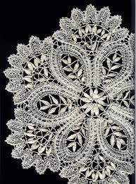 idrija lace - this is Idrija Lace, created in Slovenia. It was an important source of income for miners' families