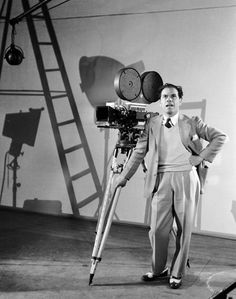 Frank Capra, director of 'Mr Smith Goes to Washington' and 'A Wonderful Life'. Kindred spirit.