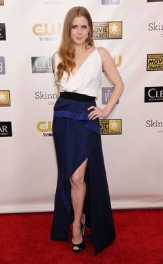 Amy Adams - hitting it out of the park!