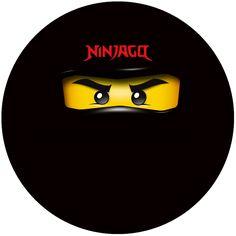 "Kit Digital Aniversário ""Ninjago"" para Imprimir - Convites Digitais Simples"