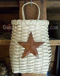 basket- need to steal this from my mother & add the star :)