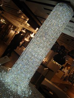 I would put this swarovski chandelier in my closet just because I could! And it would look ahhh-mazinggg!