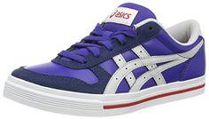 Asics Aaron, Unisex-Erwachsene Sneakers, Blau (dark Blue/soft Grey 5210), 42.5 EU - http://kameras-kaufen.de/asics/asics-aaron-unisex-erwachsene-sneakers-blau-dark