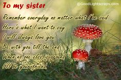 "sisters quote sweet  Even though when I'm really saying ""You're wrong,"" I say it with love :)"