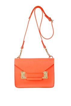 Sophie Hulme mini envelope bag via fab e-com site Dagny & Barstow.