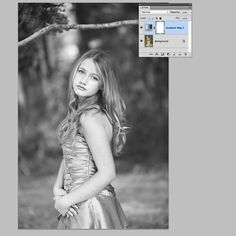 Creating Contrast using the Gradient Map in Photoshop from clickin moms