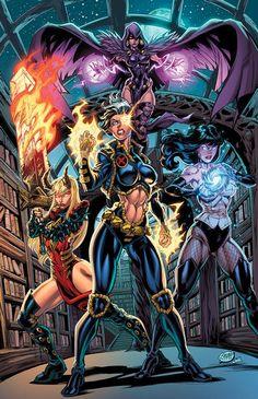 Marvel/DC Mashup: Natalie Grey N the Magic Maidens by CdubbArt on DeviantArt