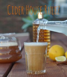 Apples fall in that sweet spot between the warmth of summer and the chill of winter, so how about an apple cider drink that can go either direction? Warm it up for an early season Packers game or cool it down for an Indian summer day.