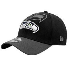 New Era Seattle Seahawks 39Thirty Classic Flex Hat - Black