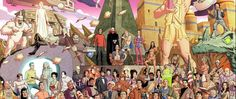Dusty Abell on His 50 Artists. 50 Years. Contribution   The smile on Dusty Abell's face was as bright as his artwork on the wall behind him when StarTrek.com caught up with him at the Star Trek. 50 Artists. 50 Years. exhibition at Michael J. Wolf Fine Arts gallery in San Diego during this past summer's Comic-Con festivities. Abell is a character designer in the animation industry and he was previously employed as a comic book penciler and cover artist. His 50 Artists. 50 Years contribution…