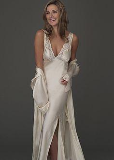 Luxury silk nightgown