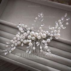 Headpiece Wedding, Bridal Headpieces, Wedding Hair Accessories, Wedding Jewelry, Pink Diamond Ring, Diy Headband, Headbands, Tiara Hairstyles, Hair Jewels