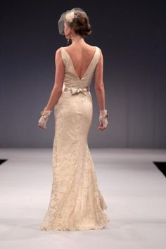 Anne Barge   Spring 2013 Collection  Love the back...would like it better in ivory though by pansy