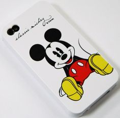 DISNEY CLASSIC MICKEY MOUSE - IPHONE 4 4S 4G 4GS Hard SILICONE GUMMY Case Cover  $11.69