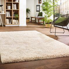 Creation - Langflor-Teppich von Kibek in Grau Shag Rug, Rugs, Creme, Home Decor, Portugal, Fireplace Living Rooms, Pastel, Ad Home, Homes
