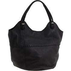 The Sak Indio Leather Large Tote $100 - This is the bag I am rocking right now
