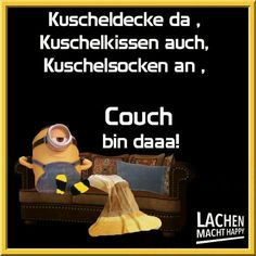 Lachen Macht Happy, Happy Minions, Night Wishes, Smiley, Haha, Thoughts, Humor, Feelings, My Love