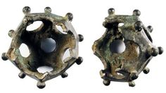 These 18 Items Found On Earth Cannot Be Explained - These are small,  dodecahedral- shaped hollow items made of either stone of bronze. These items date back to the 2nd or 3rd centuries and about a hundred of these things have been found throughout Europe. Despite their long history, no one had any idea what these were used for. Some believe they may have been used as dice or surveying instruments, but nothing has been proven.