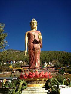 Buddha in Thimphu, Bhutan  - API study abroad program at Royal Thimphu College | Flickr - Photo Sharing! http://www.apiabroad.com/study/bhutan