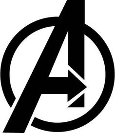 Avengers Vinyl Decal Logo Super Heros by Remarkable Walls on Etsy, $10.00