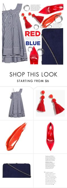 """cmon"" by fransiscaerica ❤ liked on Polyvore featuring MSGM, J.Crew, Sergio Rossi and Dorothy Perkins"