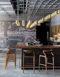 49 Trendy Home Bar Interior Design Style Black Interior Design, Boutique Interior Design, Bar Interior, Restaurant Interior Design, Design Hotel, Contemporary Interior, Scandinavian Interior, Luxury Interior, Scandinavian Style