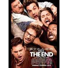 The red-band trailer for the doomsday comedy This Is The End gets a not-safe-for-work introduction from stars Seth Rogen and James Franco. The film, whose star-studded cast also includes Jonah Hill, Jay Baruchel, Danny McBride and Emma Watson, opens June Funny Movies, Comedy Movies, Great Movies, Hd Movies, Movies Online, Movies And Tv Shows, Movie Tv, Funniest Movies, Watch Movies