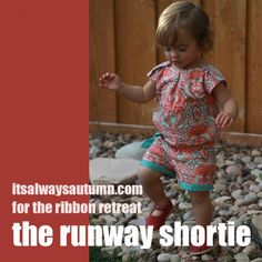 *This post originally appeared at the Ribbon Retreat blog* I love the look of jumpers/rompers/shorties that I keep seeing on the runway, but there is no way I could ever pull one off, even if I wanted to. You know who can? My baby girl. She can pull off just about anything, so I decided …
