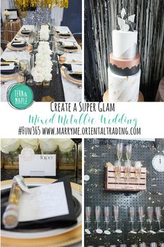 Create a Glam Mixed