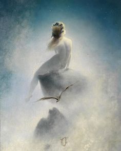 Karl Wilhelm Diefenbach German Painter, Symbolist and Naturalist – Dark Art and Craft Odin Norse Mythology, Paint Strokes, Witch Art, Star Art, Vintage Wall Art, Stargazing, Trees To Plant, Location History, Einstein