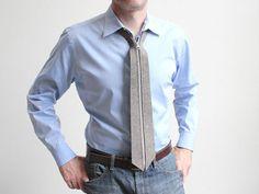 A Necktie That Zips: Zip Tie from Actual Photo