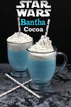 Star Wars Bantha Cocoa Recipe and The Force Awakens Trailer via @blm03