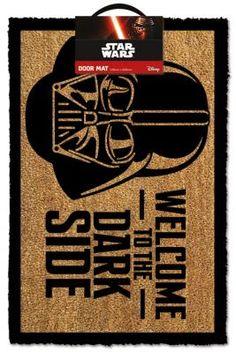 Felpudo Welcome To The Dark Side 40 x 60 cm. Star Wars Foto 1