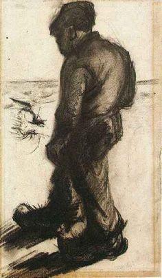 Peasant - Vincent van Gogh