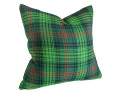 Playful Plaid Pillows by PillowThrowDecor