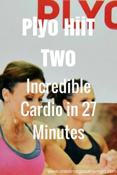 Plyo HiiT Two-Incredible Cardio in 27 Minutes-One Strong Southern Girl-Find out how Cathe Friedrich can satisfy your craving for an intense workout in a short amount of time. Let me tell you what you need to know to crush this workout.