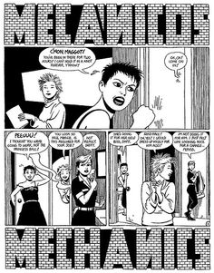 """Maggie the Mechanic: The First Volume of """"Locas"""" Stories from Love & Rockets by Jaime Hernandez - page 77"""
