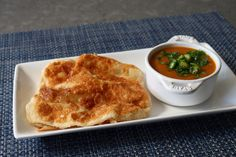 With a crispy, crunchy exterior and a stretchy, chewy interior, these Malaysian flatbread (roti canai) are served alongside a delicious curried lentil dip. Food Wishes, Lentil Curry, Dip Recipes, Bread Recipes, Asian, Fresh Ginger, Original Recipe, Lentils, Recipes